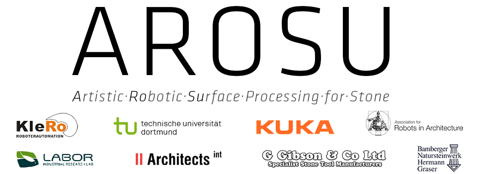 AROSU | Artistic Robotic Surface Processing for Stone -
