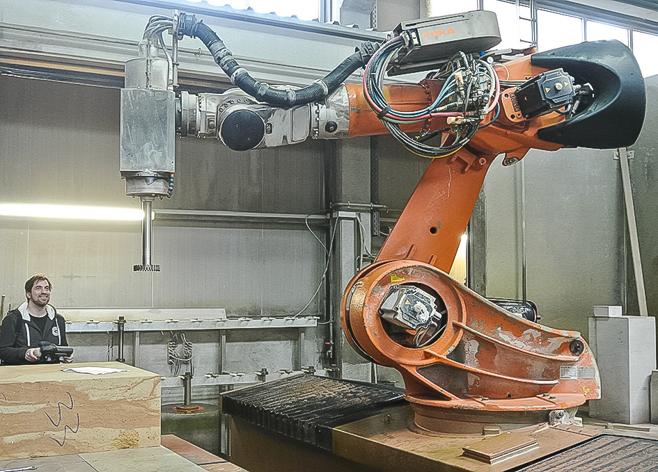 Arosu Artistic Robotic Surface Processing For Stone
